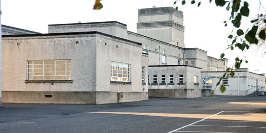 1930s art deco Kelso High School for sale in Kelso, Scottish Borders