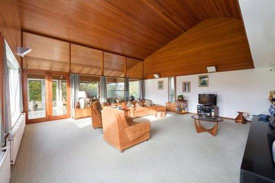 The Quarry 1960s Morris & Steedman-designed modernist property in Gullane, East Lothian, Scotland