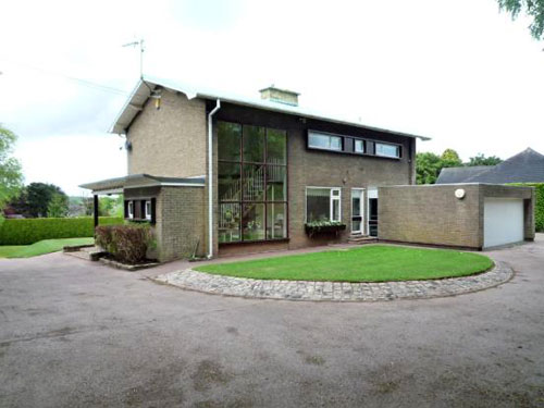 1950s architect-designed detached house in Seabridge, Newcastle Under Lyme, Staffordshire