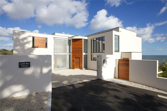 On the market: Sadler Brown-designed coastal modernist property in Seaton, Devon