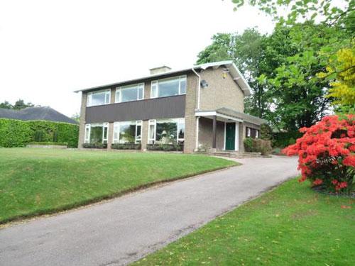 1950s architect-designed detached house in Seabridge, Newcastle Under Lyme, Staffordshire