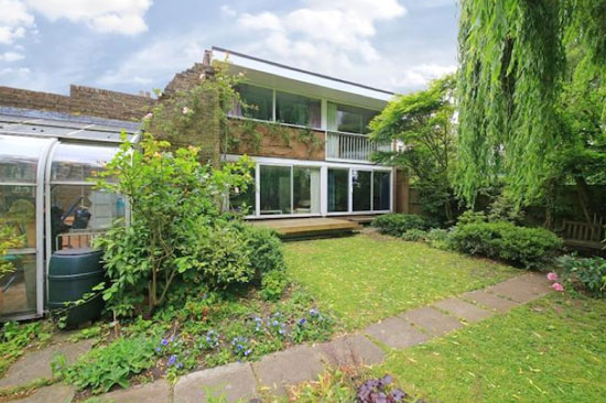 On the market: 1960s Walter Segal-designed four-bedroom property in London N6