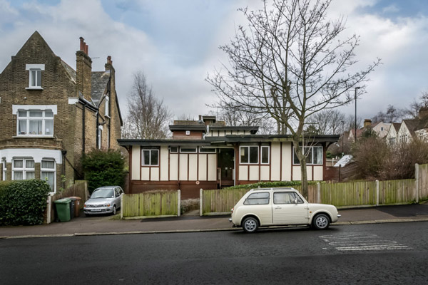 1980s Walter Segal property in London SE26
