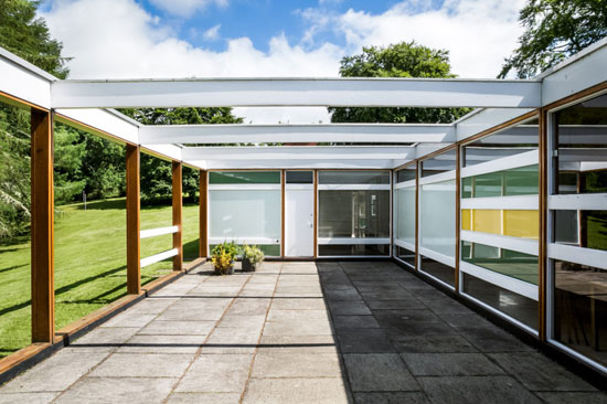 1950s midcentury modern: Peter Womersley-designed Klein House in Selkirk, Scottish Borders