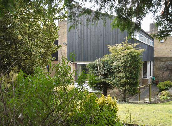 1960s modernism: Fry, Drew & Partners-designed property in Kemsing, near Sevenoaks, Kent