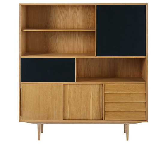 Midcentury interior: Sheffield furniture range at Maisons Du Monde