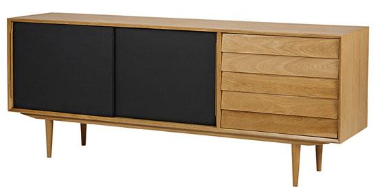 Midcentury interior: Sheffield furniture range at Maisons Du Monde