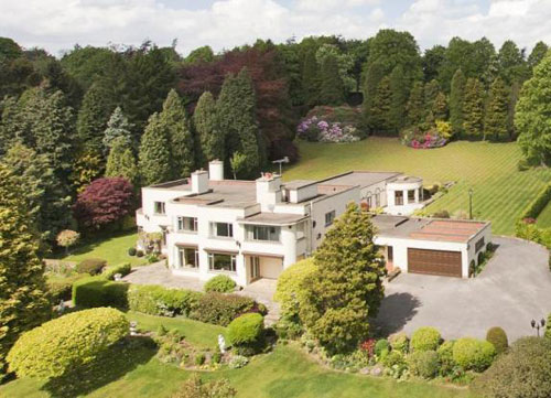 On the market: 1930s Shenley luxury art deco house in Burn Bridge, Near Harrogate, North Yorkshire