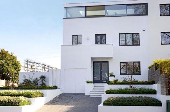 On the market: Modernised 1930s five-bedroom modernist property in Shepherds Hill, London N6