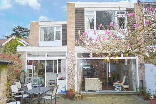 1960s Bernard Ruggieri-designed terraced property in Shepperton, Middlesex