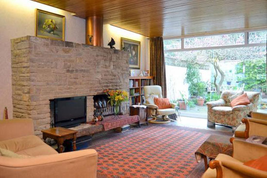 1960s Bernard Ruggieri-designed terraced property in Shepperton, Middlesex