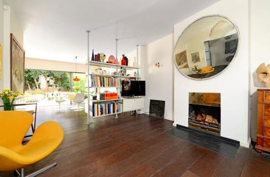 Modernised 1930s five-bedroom modernist property in Shepherds Hill, London N6