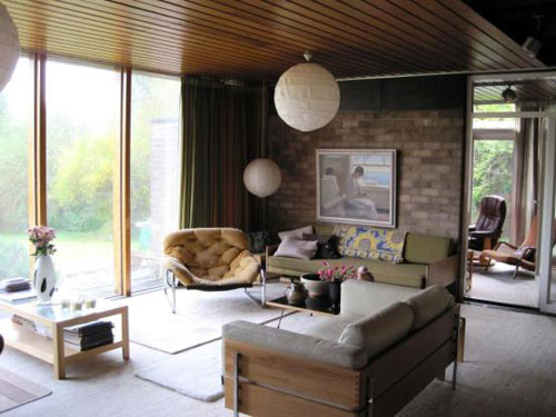 Derek Stanley Bottomley-designed modernist house in Sherburn in Elmet, North Yorkshire