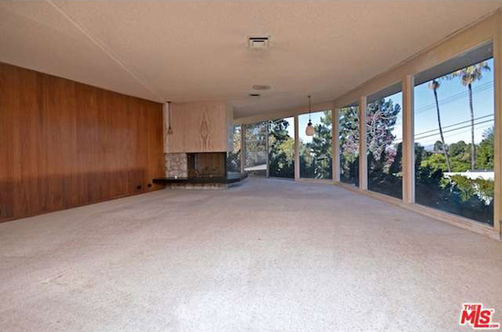 1960s midcentury modern property in Sherman Oaks, California, USA