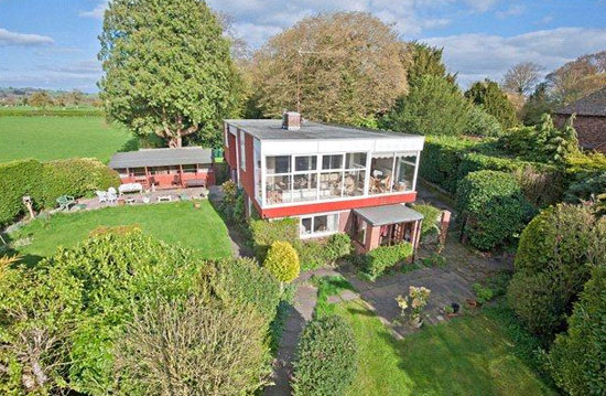 On the market: 1970s modernist property in Ludlow, Shropshire