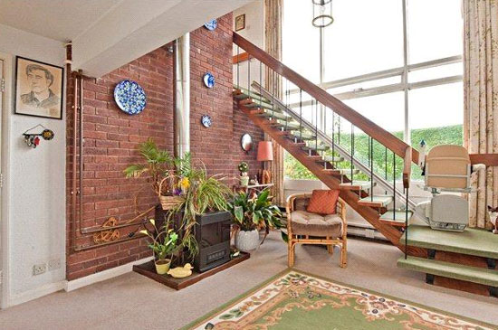 1970s modernist property in Ludlow, Shropshire