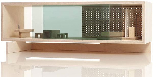 45. Sibis Villa modernist doll's house by Sirch