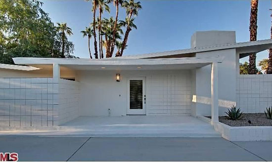 On the market: 1960s four-bedroom midcentury modern property in Rancho Mirage, California, USA
