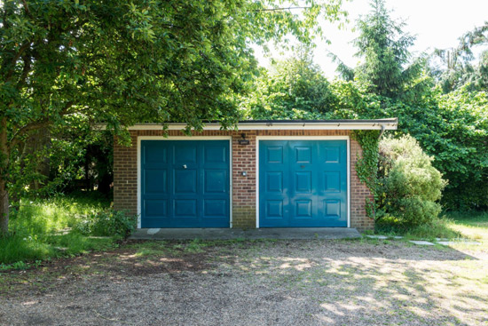 1960s midcentury modern house in Snape, Suffolk