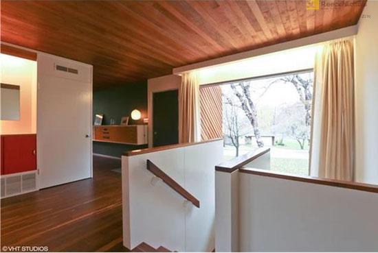 1950s Marcel Breuer-designed Snower Residence in Mission Hills, Kansas, USA
