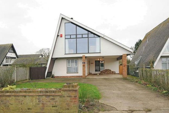 On the market: 1980s A-frame property in Southminster, Essex