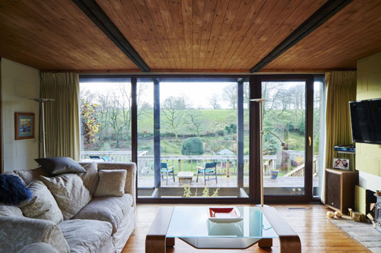 1970s Bob and Tim Organ-designed modernist property in Oakhill, Somerset