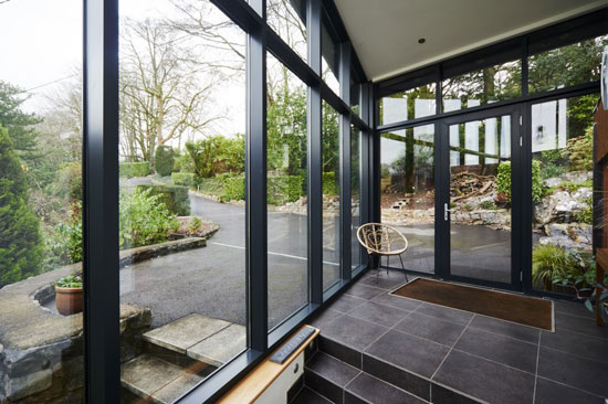 1970s Bob and Tim Organ-designed modernist property in Oakhill, Somerset
