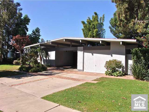 Eichler four-bedroomed house in Orange County, California