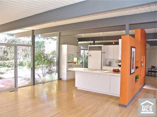 Eichler four-bedroomed house in Orange County, California