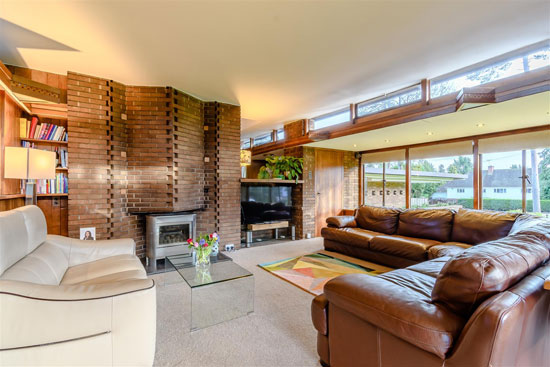 1950s D. Rosslyn Harper midcentury modern house in Solihull, West Midlands