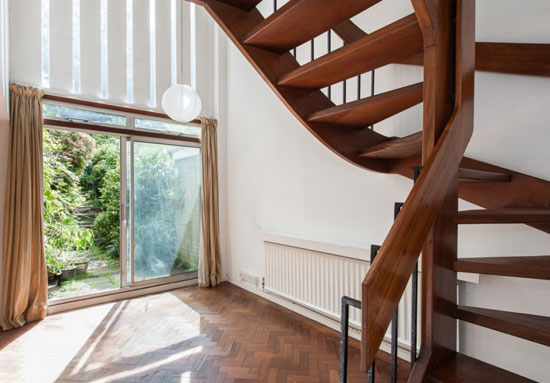 1960s Harley Sherlock-designed three-bedroom property on the Southwood House Estate, London N6