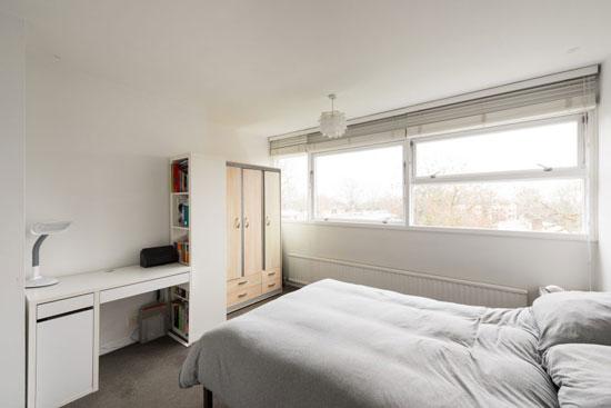 1950s Span house: Eric Lyons-designed apartment in Hallgate on the Cator Estate, Blackheath, London SE3