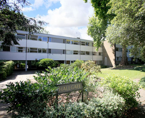 On the market: 1960s Span two-bedroomed flat in Hallgate, Blackheath Park, Blackheath, London SE3