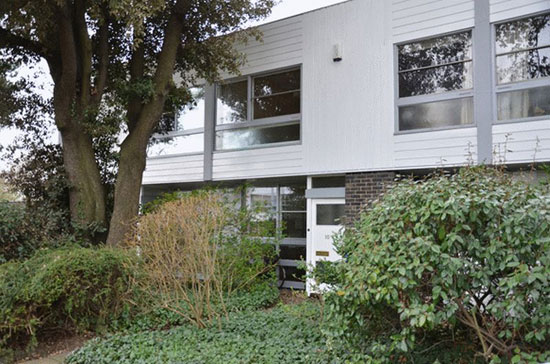1960s Span House on the Cator Estate, Blackheath, London SE3