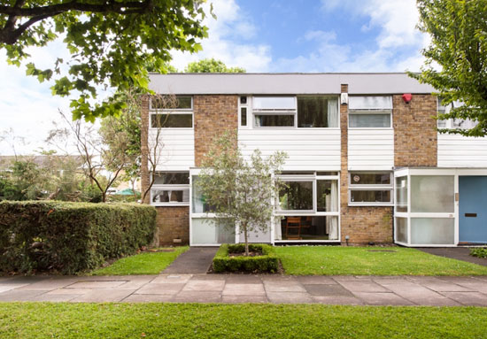 On the market: Extended 1960s Eric Lyons-designed Span House on the Cator Estate, Blackheath, London SW3