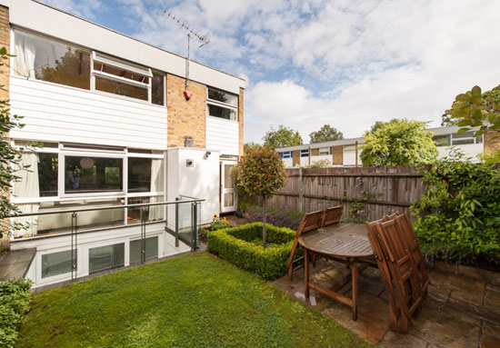 Eric Lyons-designed Span House on the Cator Estate, Blackheath, London SW3