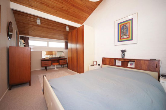 1960s Eric Lyons-designed three-bedroom Span house in New Ash Green, Kent