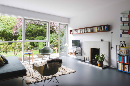 1950s apartment in the Parkleys Span development, Richmond upon Thames, Surrey