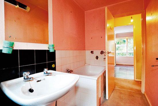 Two-bedroom apartment in the 1950s Eric Lyons-designed Parkleys development in Ham, Richmond, Surrey