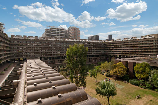 On the market: Two-bedroom apartment in Speed House on the Barbican Estate, London EC2Y