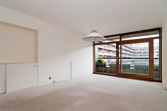 Two-bedroom apartment in Speed House on the Barbican Estate, London EC2Y