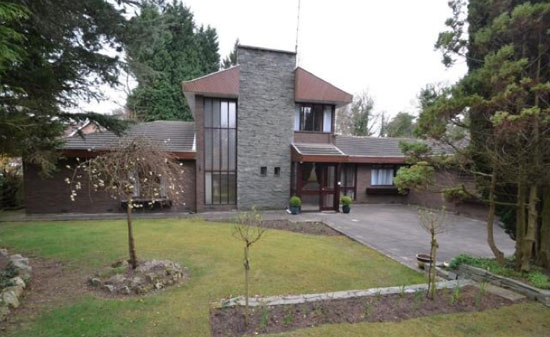On the market: 1970s four-bedroom modernist property in Cheadle, Cheshire