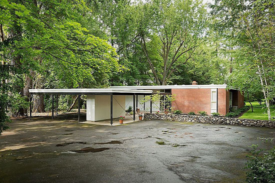 1950s Bruce Walker Ferris House in Spokane, Washington state, USA
