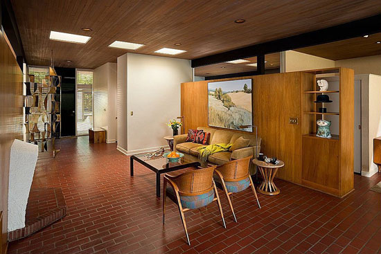 1950s Bruce Walker-designed midcentury modern Ferris House in Spokane, Washington state, USA