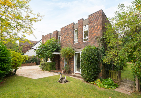 On the market: 1970s Philip Allison-designed midcentury modern property in Stoke Row, Oxfordshire