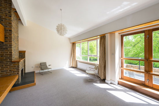 On the market: 1970s Oxford Architects Partnership-designed midcentury property in Cleave Court, Streatley-on-Thames, Berkshire