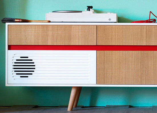 Miniforms Skap audio sideboards