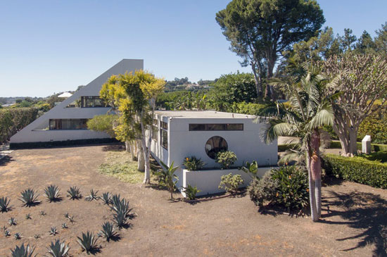 Ellis David Gelman Star Trek house in Malibu, California, USA