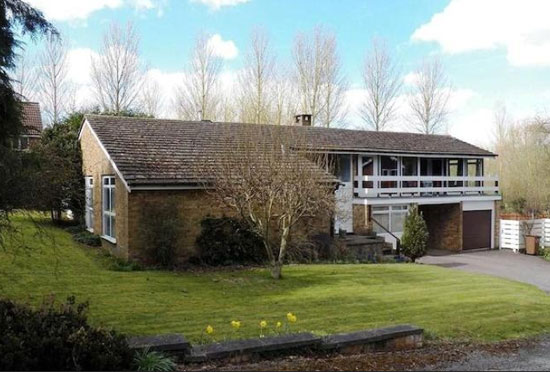 On the market: 1960s architect-designed four-bedroom property in Stevenage, Hertfordshire
