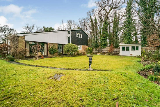 1960s midcentury modern house in Stevenage, Hertfordshire